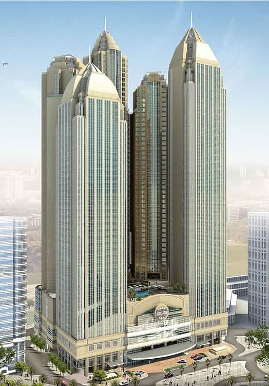 Capital Plaza Development - Abu Dhabi cephe kaplama projesi